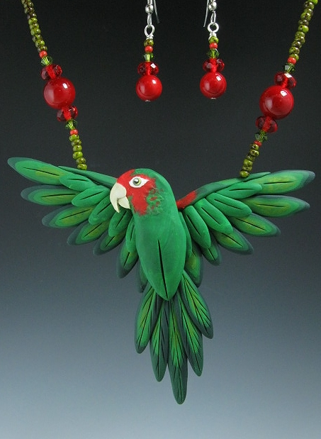 Mitred Conure Necklace