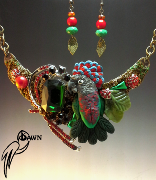 Hawkhead Parrot Special Necklace Set 11