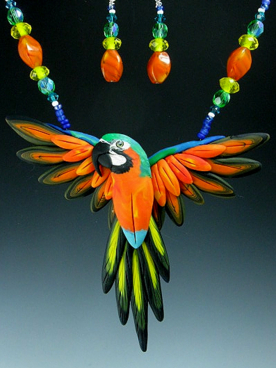 Catalina Macaw Necklace Set
