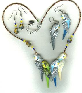 amazing budgie jewelry