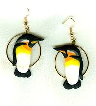 King Penguin Earrings