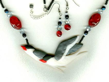 Artic Tern Necklace Jewelry